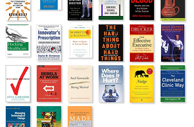 My Top Healthcare and Health Tech Books